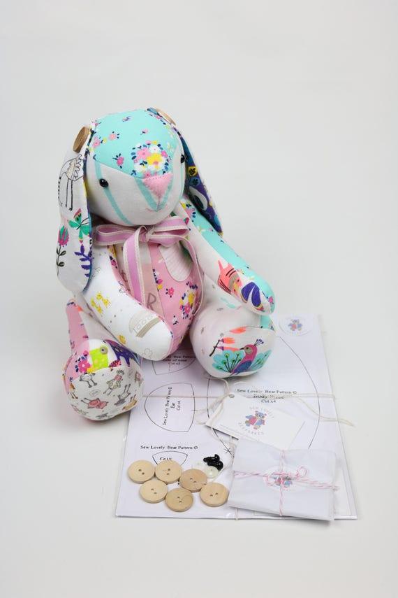 Speicher-Hase oder Bär Set Geschenk DIY Speicher Bunny | Etsy