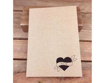 Pizza Eco Notebook, Jotter, Sketchbook, Journal A5