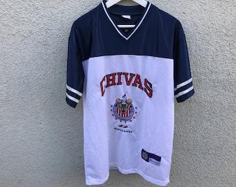 1990's Vintage CHIVAS Guadalajara Soccer Team Jersey
