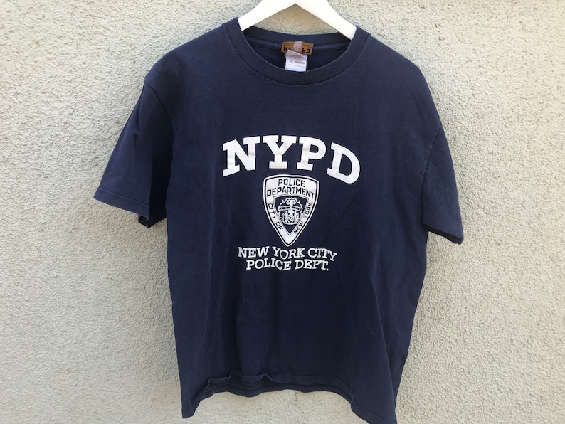 d0758c7e Vintage NYPD New York Police Department Shirt | Etsy