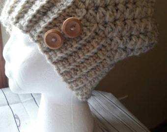Crochet slouchy beanie hat, women's slouchy hat, women's winter hat, slouch hat, slouch beanie, fall fashion, boho fashion