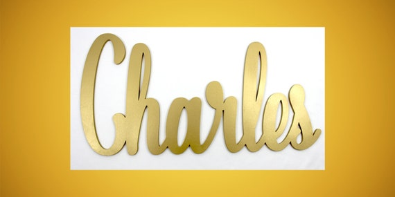 Personalized Wood Sign Personalized Gift Cursive Name Sign Etsy