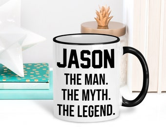 25376470b288 Personalized The Man The Myth The Legend Mug