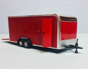 1//64 Scale Resin Printed Uhaul 4×8 Enclosed Trailer