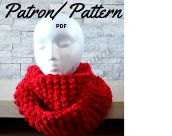 Crochet Pattern: Endless Scarf