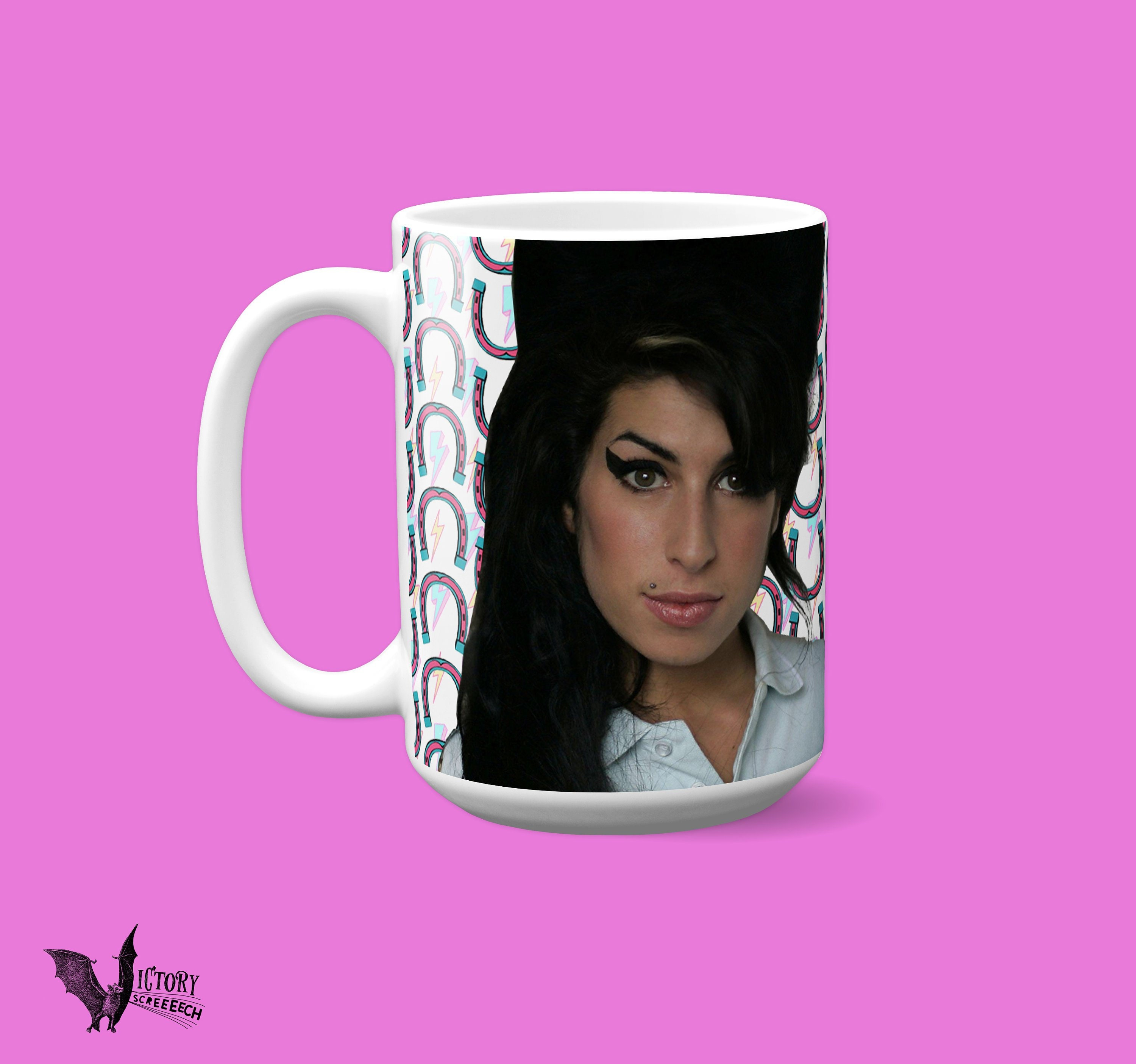 Amy Winehouse Mug   gifts for her Girlfriend gifts boyfriend gifts for  music lovers