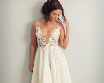 Wedding dress/ Bridal gown/ Hand made- Jessica dress