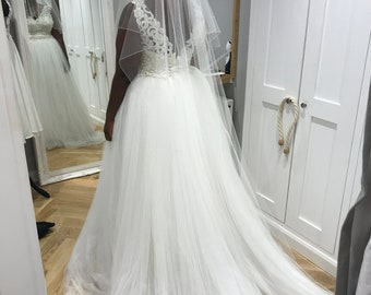 c12a45040a Wedding/ Bridal Tulle Over Skirt