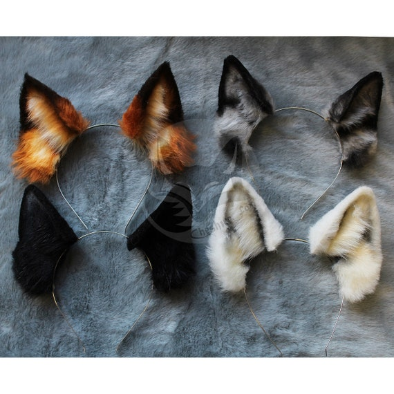 Made To Order Cat Ears and Tail Cosplay Set