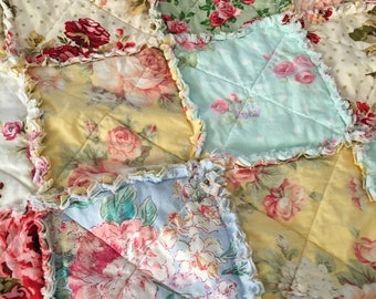 Magnificent Shabby Chic Quilt Etsy Download Free Architecture Designs Scobabritishbridgeorg
