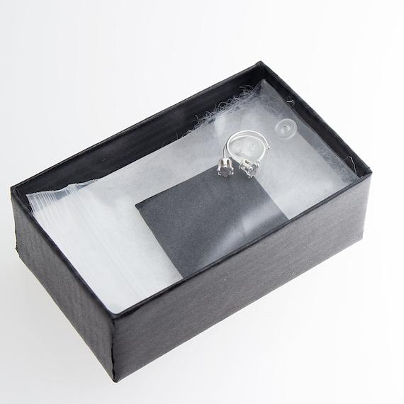 Small Alexandrite Stone SS-D9-6PR-20GA-3MM-ALEXANDRITE Open Hoop Hugger Silver Earrings 3mm
