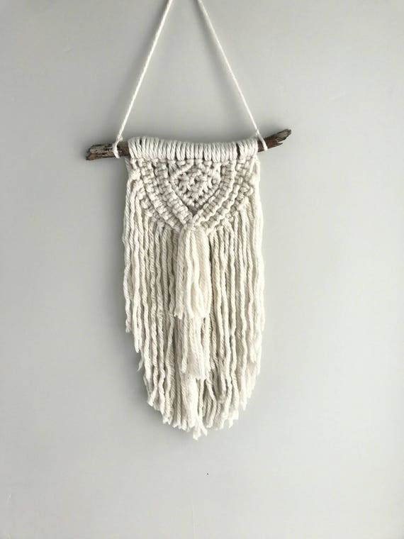 Items Similar To Small Macrame Macrame Wall Hanging