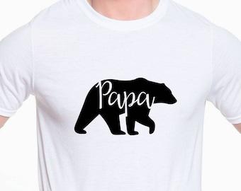 Papa Bear T-Shirt, Papa Bear Shirt, Bear Family Shirts, Daddy Bear Shirt, Papa Bear Tee, Papa Bear T Shirt, Father's Day Shirt