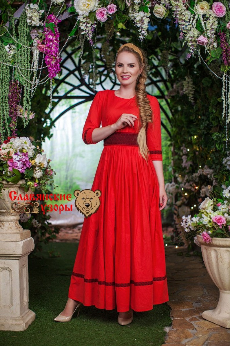 Red Dress Russian