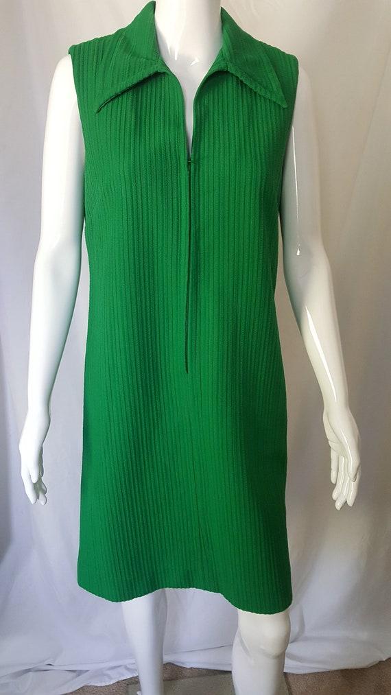 Mod Green Dress