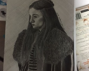 Sansa Stark Drawing