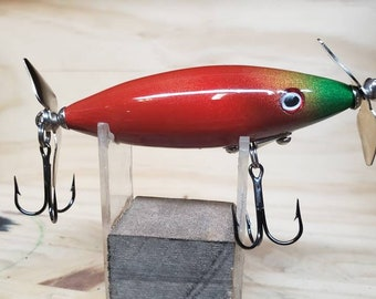Wooden Fishing Lure Etsy