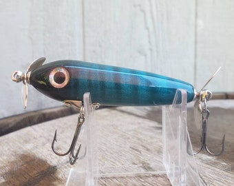 Handmade Wooden Topwater Fishing Lure, Bass Lure, Curley Maple Lure
