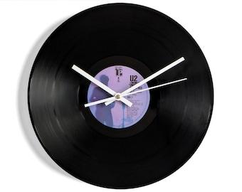 "U2 ""Under A Blood Red Sky"" Vinyl Record Wall Clock"