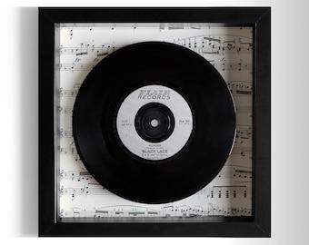 "Black Lace ""Agadoo"" Framed 7"" Vinyl Record"