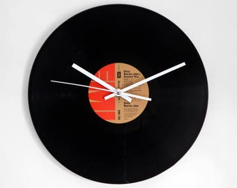 "Olivia Newton-John's ""Greatest Hits"" Vinyl Record Wall Clock"