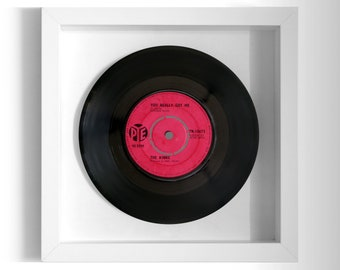 "The Kinks ""You Really Got Me"" Framed 7"" Vinyl Record"