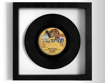 "Rod Stewart ""Tonight's the Night"" Framed 7"" Vinyl Record"