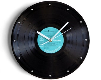 "Military Band Of The Scottish Division ""Amazing Grace"" Vinyl Record Wall Clock"