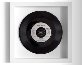"Kim Wilde ""You Came"" Framed 7"" Vinyl Record"