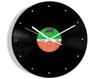 """Ben E. King """"Stand By Me"""" Vinyl Record Wall Clock"""