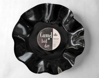"Carmel ""Bad Day"" Wide Vinyl Record Bowl"