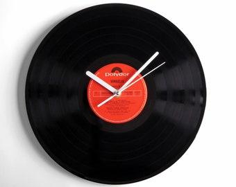 """Vangelis """"Chariots Of Fire"""" Vinyl Record Wall Clock"""
