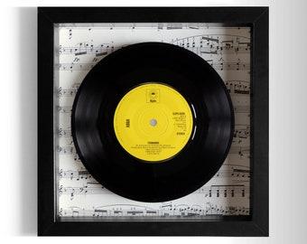 """ABBA """"Fernando"""" Framed 7"""" Vinyl Record"""