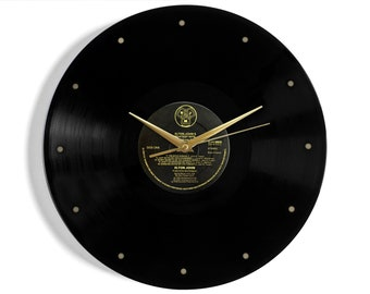 "Elton John ""Greatest Hits Volume II"" Vinyl Record Wall Clock"