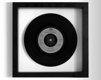 "Pet Shop Boys ''It's A Sin'' Framed 7"" Vinyl Record"