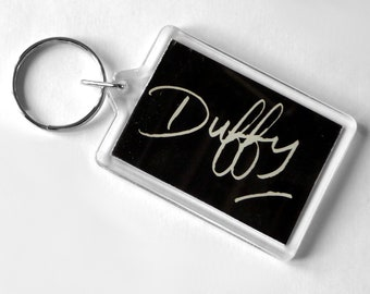 Duffy Keyring from CD Booklet