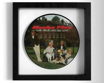 "Bucks Fizz ""Now Those Days Are Gone"" Framed 7"" Vinyl Record"