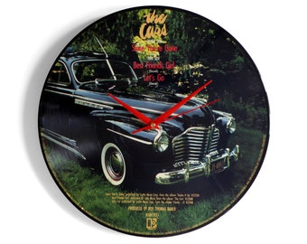 "The Cars ""Since You're Gone"" Vinyl Record Wall Clock"