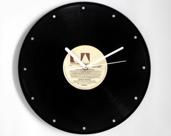 "Shirley Bassey ""Good Bad Beautiful"" Vinyl Record Wall Clock"
