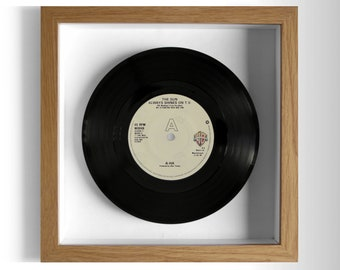 "A-ha ""The Sun Always Shines On T.V."" Framed 7"" Vinyl Record"
