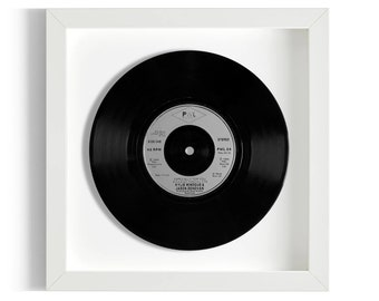 """Kylie Minogue and Jason Donovan """"Especially For You"""" Framed 7"""" Vinyl Record"""