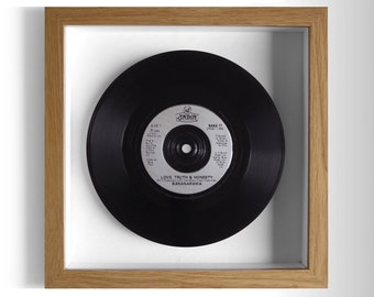 "Bananarama ""Love, Truth & Honesty"" Framed 7"" Vinyl Record"