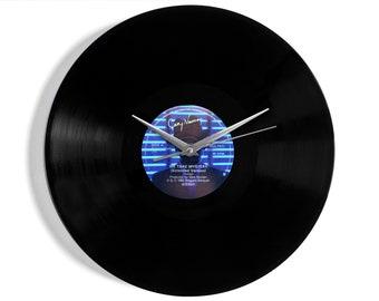 "Gary Numan ""We Take Mystery"" Vinyl Record Wall Clock"