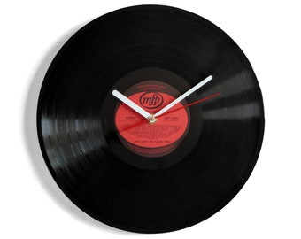 """Herb Alpert """"This Guy's In Love With You"""" Vinyl Record Wall Clock"""
