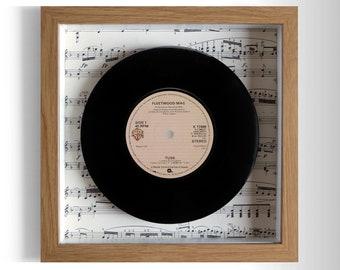 """Fleetwood Mac """"Tusk"""" Framed 7"""" Vinyl Record"""