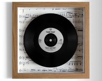 "Take That ""Could It Be Magic"" Framed 7"" Vinyl Record"