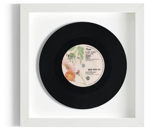 """Prince """"When Doves Cry"""" Framed 7"""" Vinyl Record"""
