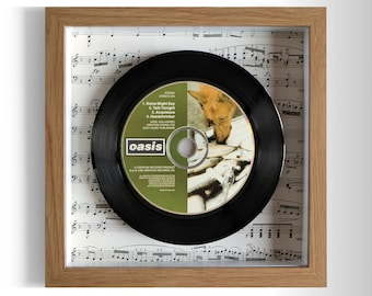 "Oasis ""Some Might Say"" Framed CD"