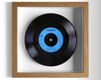 """Thompson Twins """"We Are Detective"""" Framed 7"""" Vinyl Record"""