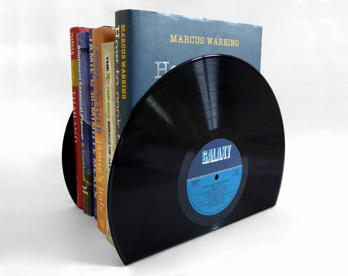 Featured listing image: Vinyl Record Bookends